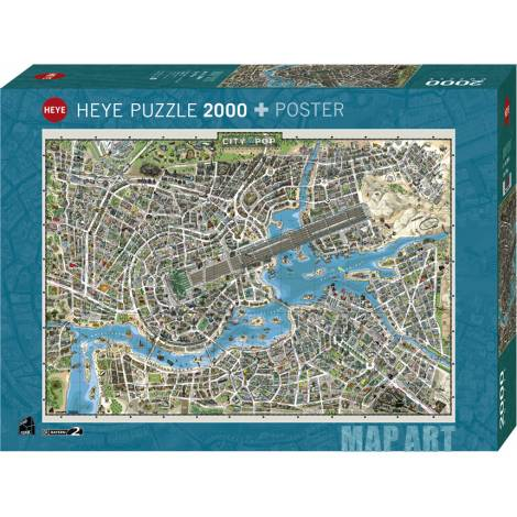 City of Pop 2000pcs (29844) Heye