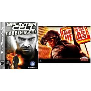 Compilation : Tom Clancy's : Splinter Cell Double Agent & Rainbow Six Vegas (XBOX 360)