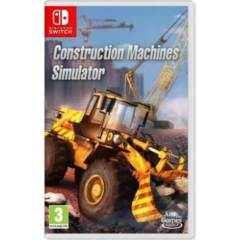 Construction Machines Simulator (Code in a Box) (Nintendo Switch)