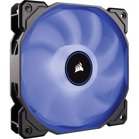 Corsair Air Series AF120 Blue LED Case Acc Fan 120mm, 3-Pin, Single Pack (CO-9050081-WW)