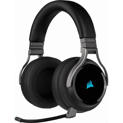 Corsair Gaming Headset Virtuoso RGB Wireless High-Fidelity 7.1 Carbon (CA-9011185-EU)