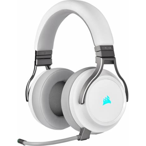 Corsair Gaming Headset Virtuoso RGB Wireless High-Fidelity 7.1 White (CA-9011186-EU )