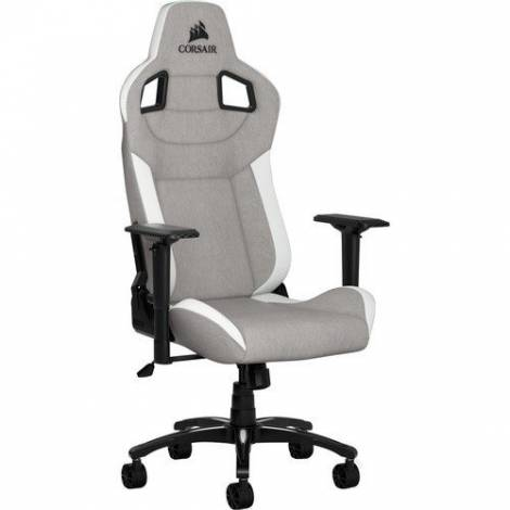 Corsair T3 Race Rush Fabric - Grey & White (CF-9010030-WW)