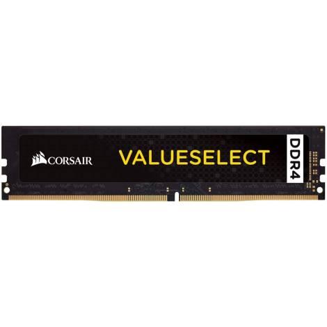 Corsair Value Select 8 GB (1 x 8 GB) DDR4 2400 MHz C16 Mainstream Notebook Memory Module - Black (CMV8GX4M1A2400C16)