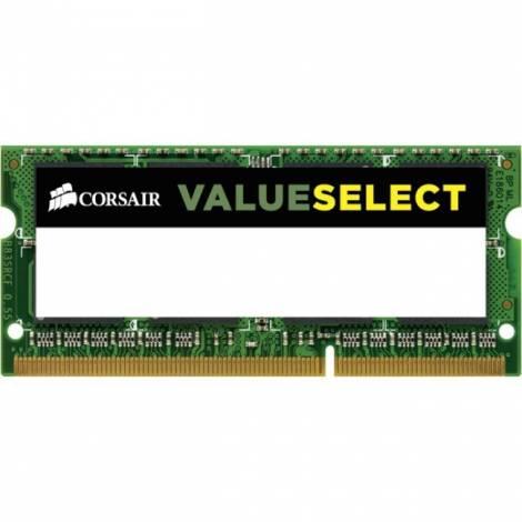 Corsair Value Select 8GB (1x8GB) DDR3 1600Mhz CL11 Mainstream SODIMM Notebook Memory Module Green (CMSO8GX3M1C1600C11)