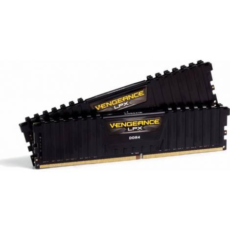 CORSAIR VENGEANCE LPX 32GB (2 x 16GB) DDR4 DRAM 3600MHz C18 Memory Kit - Μαύρο (CMK32GX4M2D3600C18)