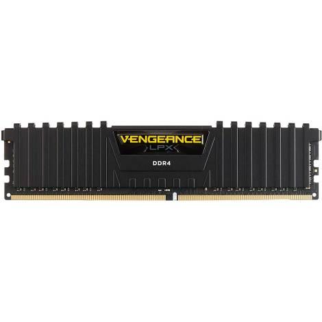 Corsair Vengeance LPX 8 GB (1 x 8 GB) DDR4 3000 MHz C16 XMP 2.0 High Performance Desktop Memory Module, Black (CMK8GX4M1D3000C16)
