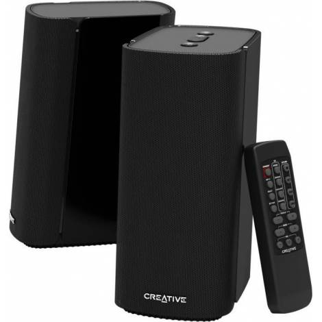 CREATIVE BT SPEAKERS T100W 2.0 BLACK (51MF1690AA000)