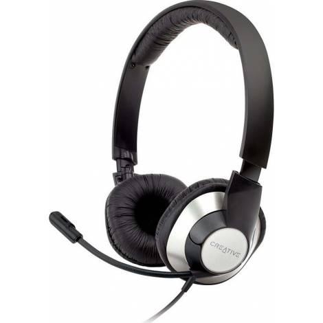 CREATIVE HEADSET HS-720 BLACK NEW - Μαύρο (51EF0410AA004)