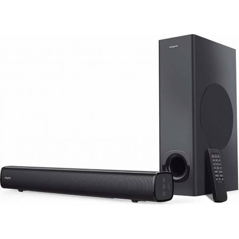 Creative Speaker Stage MF8360 2.1 High Performance Under-monitor Soundbar with Subwoofer(51MF8360AA000)