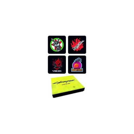 Dark Horse Cyberpunk 2077 - Coasters Set (3006-696)