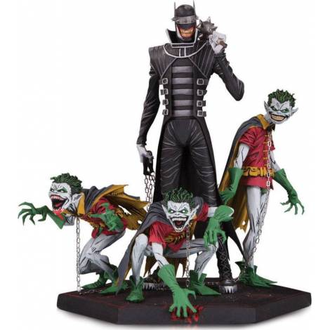 Dark Nights Metal Deluxe Statue Batman Who Laughs & Robin Minions – DC Collectibles (190542)
