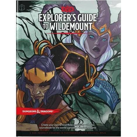 D&D Dungeons & Dragons: Explorer's Guide to Wildemount Βιβλίο