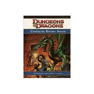 DD4: 4th Ed. Character Record Sheets