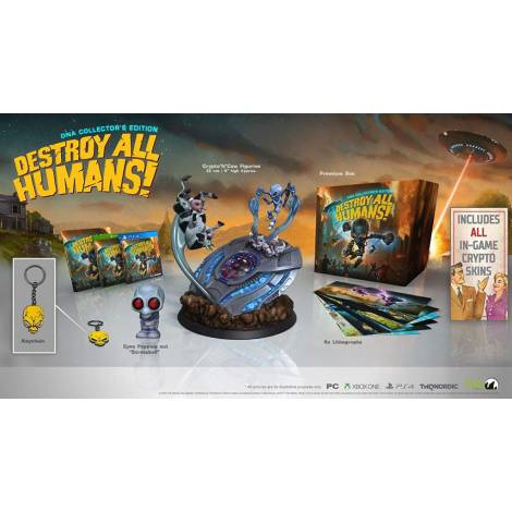 Destroy All Humans ! DNA Collector`s Edition (PS4)