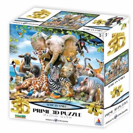 Desyllas Games: Africa Smile Puzzle (410010)