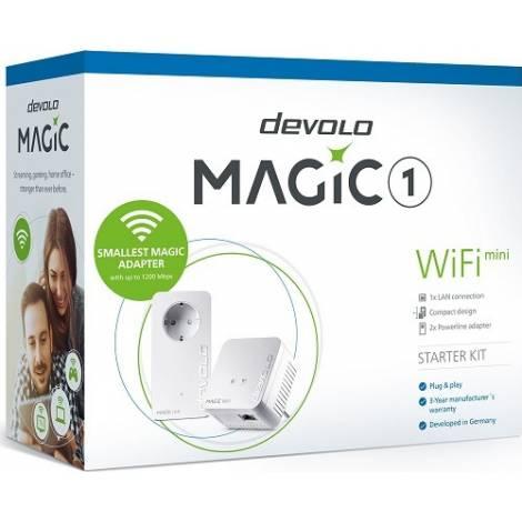 Devolo Powerline Magic 1 Mini EU Starter Kit (8568)