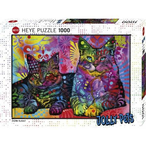Devoted 2 Cats 1000pcs (29864) Heye