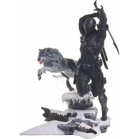 Diamond G.I. Joe Gallery Snake Eyes (28cm) PVC Statue (JUL212508)