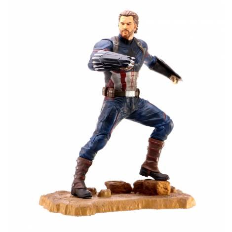 Diamond Marvel Gallery Avengers 3 Captain America PVC Statue (APR182158)