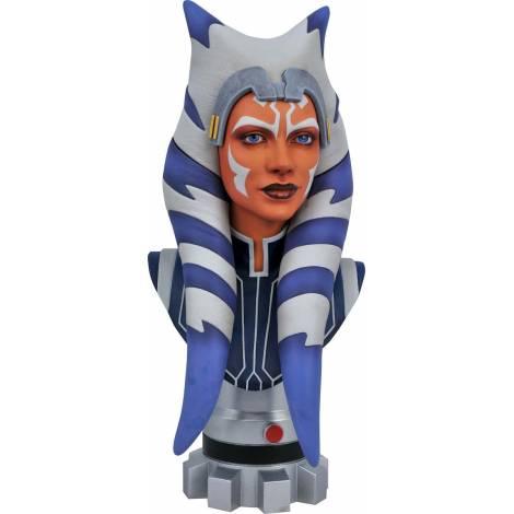 Diamond Select Toys Legends in 3D: Star Wars Clone Wars - Ashoka 1/2 Scale Bust (JAN211969)