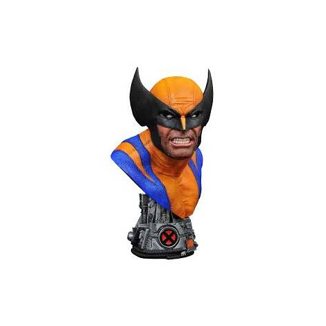 Diamond Select Toys Marvel Legends in 3D - Wolverine 1/2 Scale Bust (AUG202099)