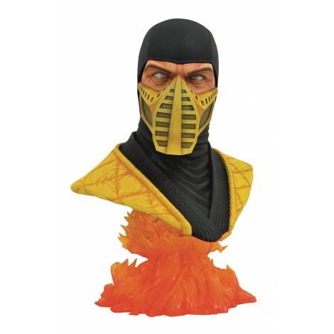 Diamond Select Toys: Mortal Kombat 11 Legends In 3D Scorpion 1/2 Scale Bust (MAR202627)