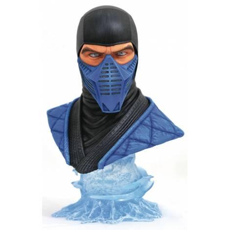 Diamond Select Toys: Mortal Kombat 11 Legends In 3D Sub Zero 1/2 Scale Bust (SEP192490) - με χτυπημένο κουτάκι