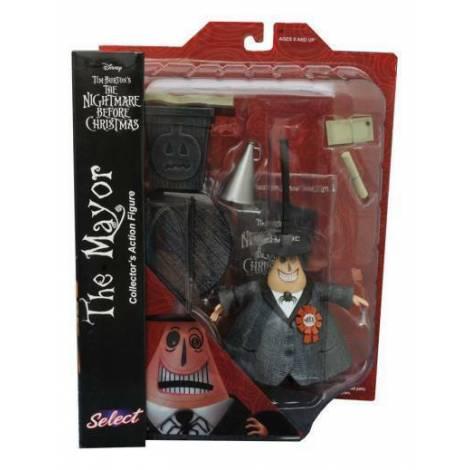 Diamond Select Toys: Nightmare Before Christmas Series 1 - Mayor Action Figure (FEB208572)