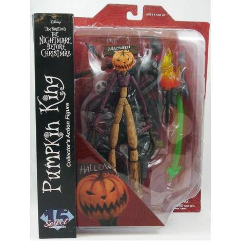 Diamond Select Toys: Nightmare Before Christmas Series 2 - Pumpkin King Jack Action Figure (FEB208574)