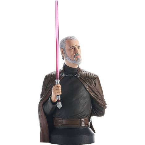 Diamond Star Wars Revenge of the Sith - Count Dooku 1/6 Scale (18cm) Bust (JUL212516)