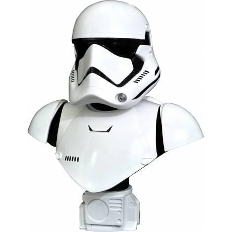 Diamond Star Wars The Force Awakens - First Order Trooper Legends In 3D 1/2 Scale (25cm) Bust (JUL212515)