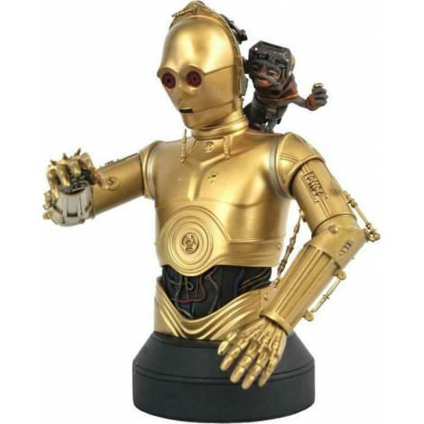 Diamond Star Wars The Rise Of Skywalker C3PO & Babu Frik 1/6 Bust (DEC202069)