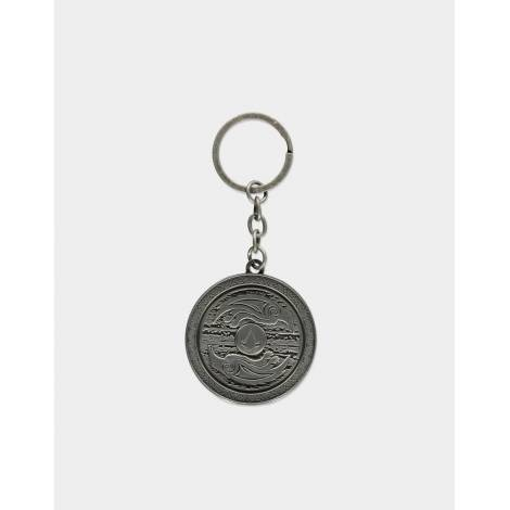 Difuzed Assassin's Creed Valhalla - 3D Shield Metal Keychain (KE700504ASC)