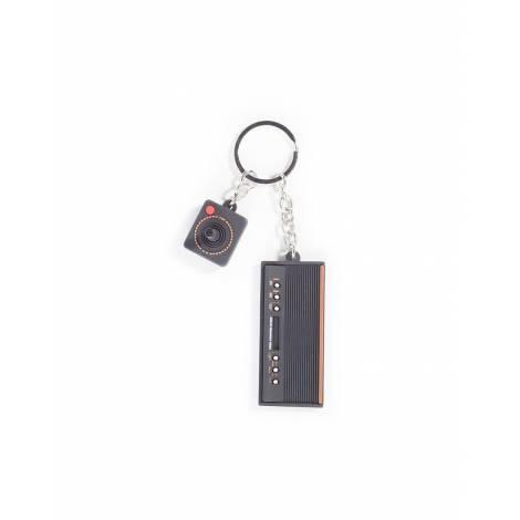 Bioworld Difuzed Atari - 3D Console & Joystick Rubber Keychain (KE100820ATA)