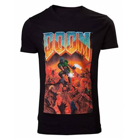 Difuzed Doom - Classic Box Art T-Shirt - Size S (TS240007DOO-S/M/L/XL/XXL)