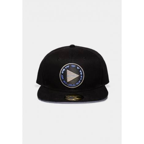 Difuzed Horizon Forbidden West - Black Snapback Cap (SB830716HFW)