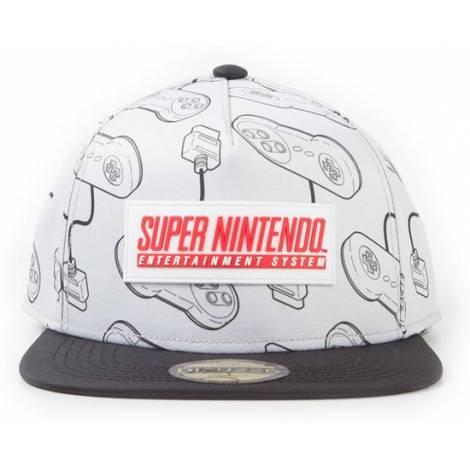 Difuzed Nintendo - SNES Snapback Cap (SB331833NTN)