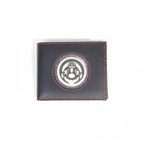 Difuzed Nintendo - Super Mario Patch Bifold Wallet (MW484845NTN)
