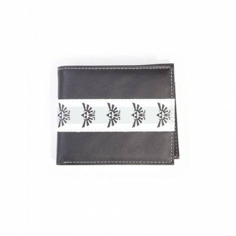Difuzed Nintendo - Zelda Black & White Men's Bifold Wallet (MW602335ZEL)