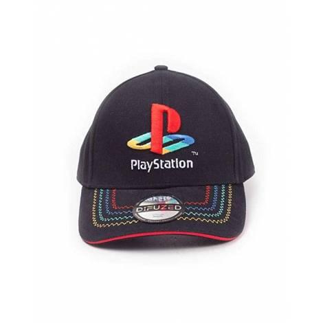 Difuzed Playstation - Retro Logo Adjustable Cap (BA271584SNY)