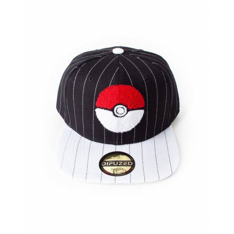 Difuzed Pokemon - Pokeball Varsity Snapback (SB206322POK)