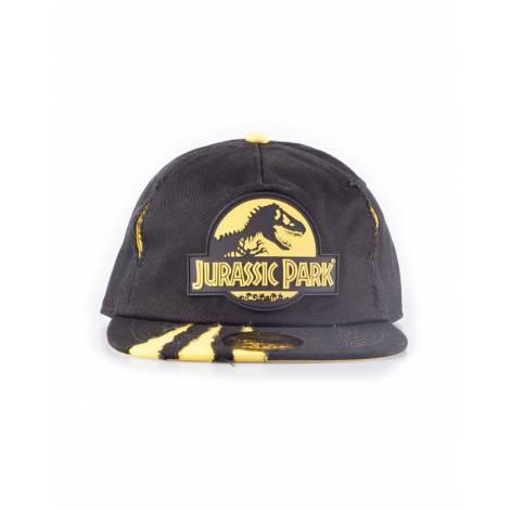 Difuzed Universal Jurassic Park - Ripped Snapback Cap (SB733516JPK) Black