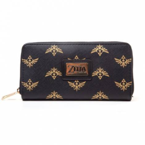 Difuzed Zelda - Hyrule AOP Zip Around Ladies Wallet (GW566211ZEL)