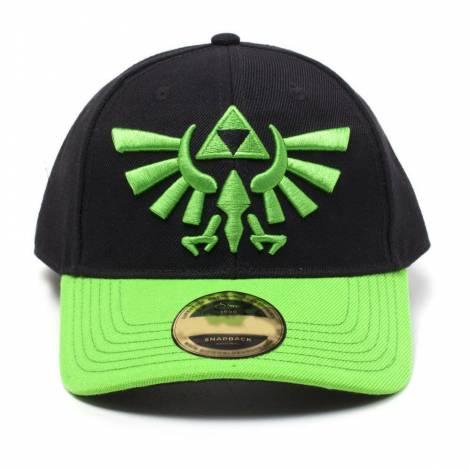Difuzed Zelda - Hyrule Crest Logo Curved Bill Cap (BA743103ZEL)