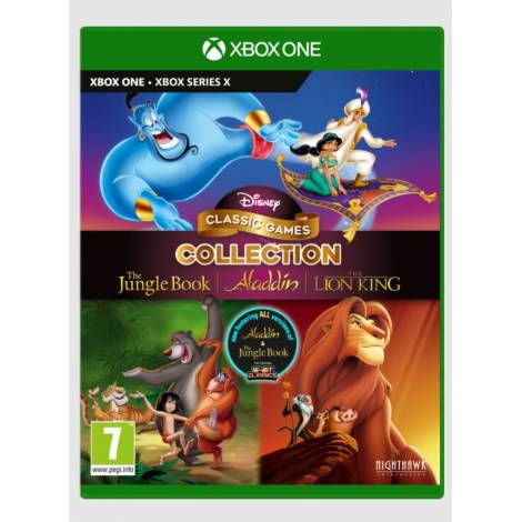 DISNEY CLASSIC GAMES COLLECTION: THE JUNGLE BOOK, ALADDIN & THE LION KING (Xbox One/Series X)