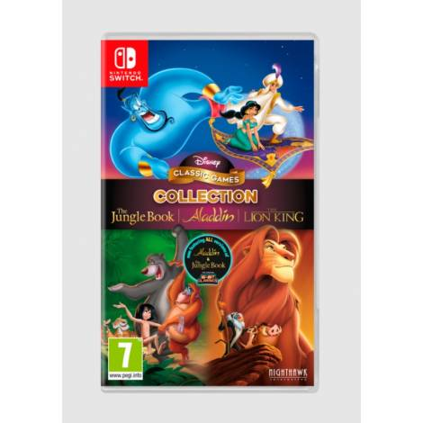 DISNEY CLASSIC GAMES COLLECTION: THE JUNGLE BOOK, ALADDIN & THE LION KING (Nintendo Switch)