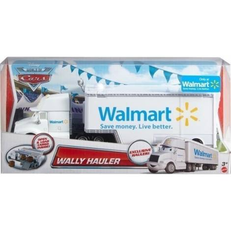 Mattel  DISNEY PIXAR CARS - DIE CAST VEHICLE - WALLY HAULER (BLV13)