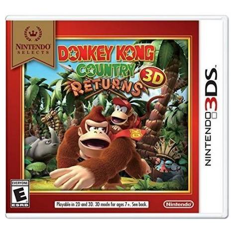 Donkey Kong Country Returns - Selects (Nintendo 3DS)
