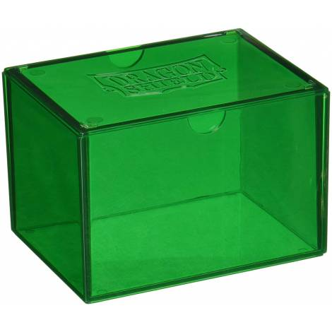 Dragon Shield Gaming Box - Green (Holds 100 Sleeved Cards)